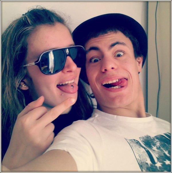 mon meilleur ami & moi :)