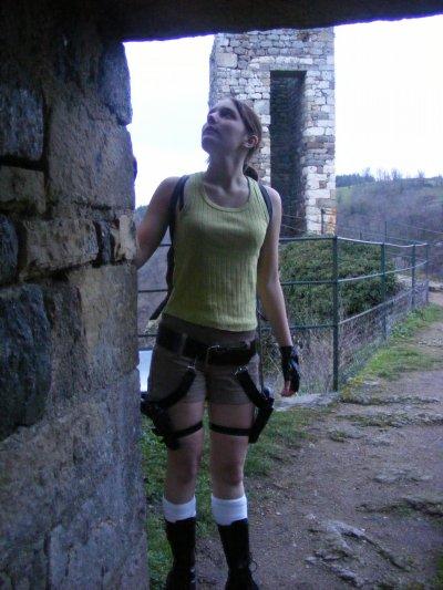 Visite des ruines...(je me suis éclatée, à faire cette série de photos ^^)