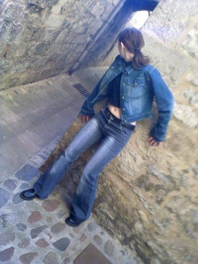 Petite série de la tenue ange des ténèbres jeans !