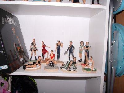 Ma collection de figurines Lara Croft !