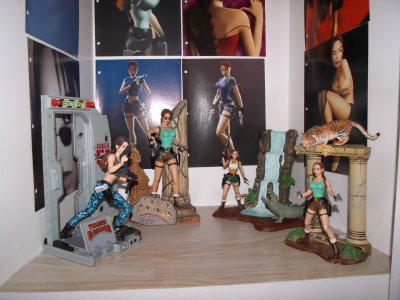 Ma collection de figurines Lara Croft !