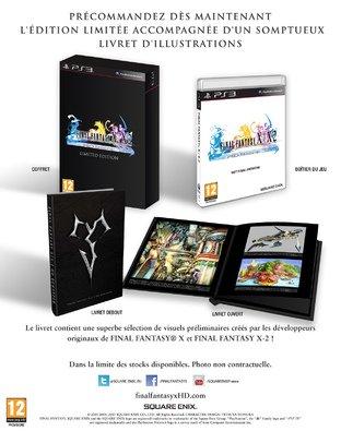 Une édition limitée pour Final Fantasy X / X-2 HD