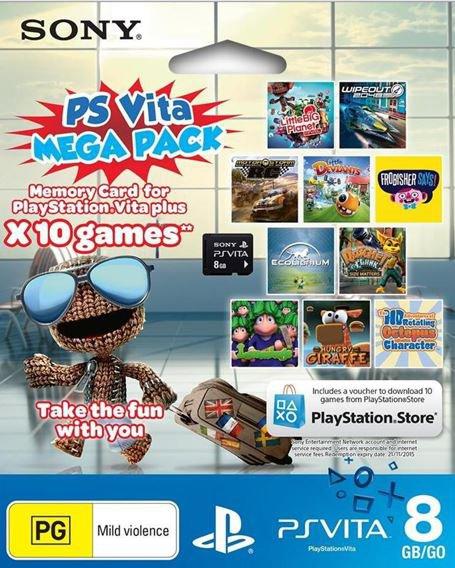 10 jeux PSVita pour 28 euros