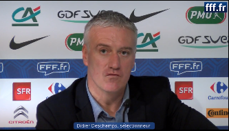 Conférence de presse de Didier Deschamps en amont du match amical France - Allemagne, 31/01/13