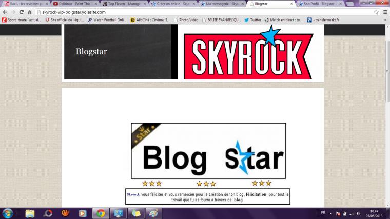 Blogstar, mon oeil !