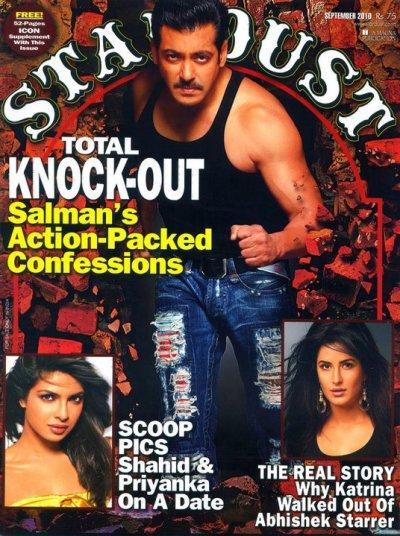 Salman Khan Stardust Magazine Interview-September 2010