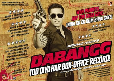 Dabangg 17th on list of highest grossers
