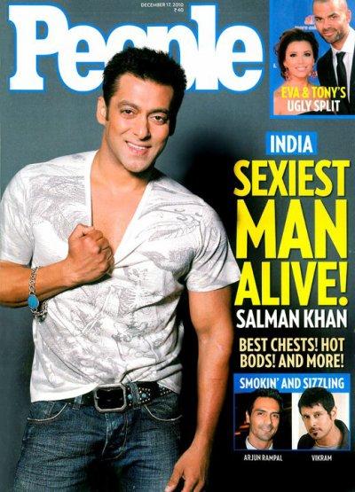 Salman Khan : india Sexiest Man Alive People Magazine