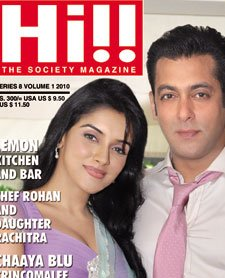 Hi Magazine Salman Khan Asin READY Film 2011