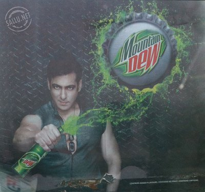 Salman Khan Mountain Dew Ad