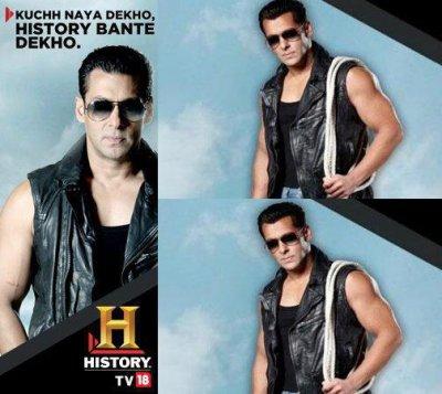 Salman Khan Host on Channel HISTORY TV