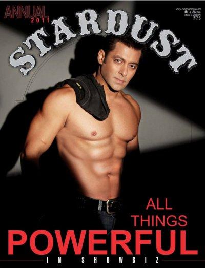 STARDUST Magazine SALMAN KHAN