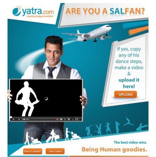 Salman Khan Brand ambassor of Yatra