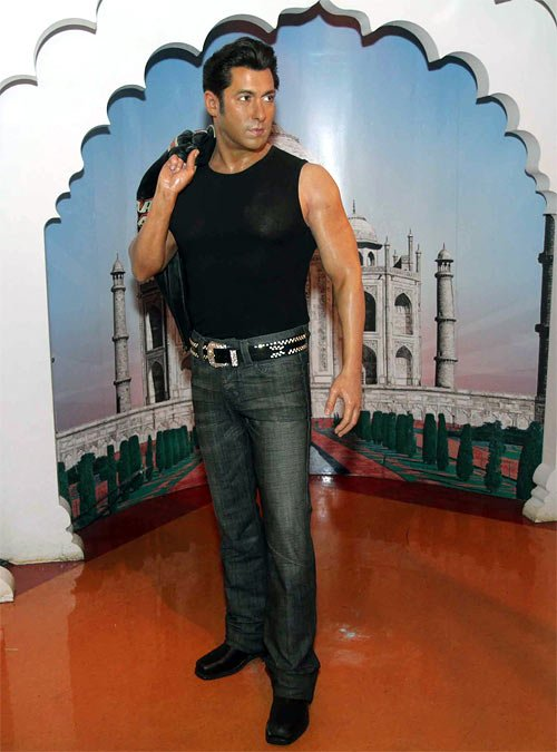 Salman Khan Wax Figure Makes a Debut at Madame Tussauds New York