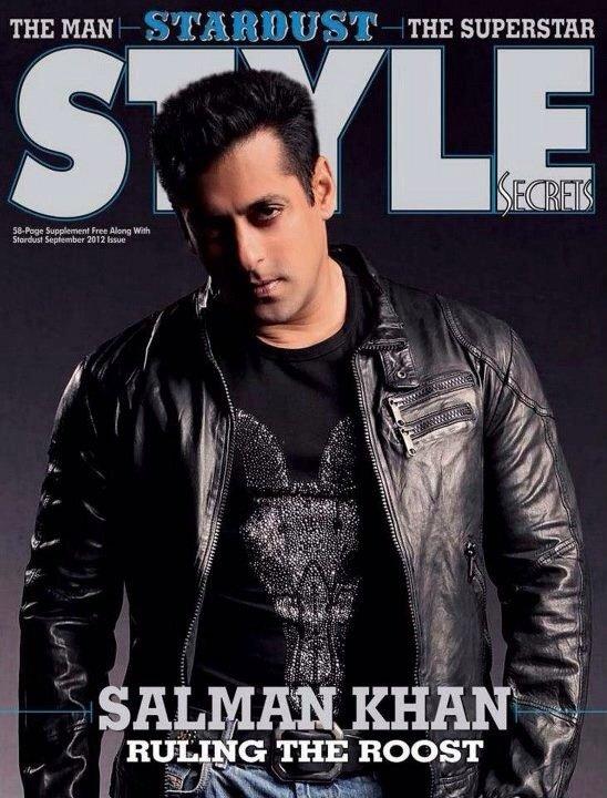 Salman Khan STYLE Magazine Stardust