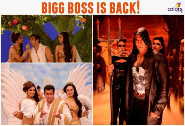 Salman Khan plays a devil and angel for Bigg Boss 7