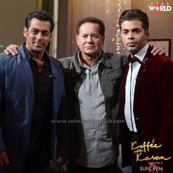 Kofee With Karan Salman Khan