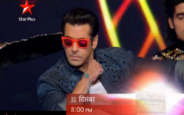 Salman Khan Big Star Entertainment Awards 2013