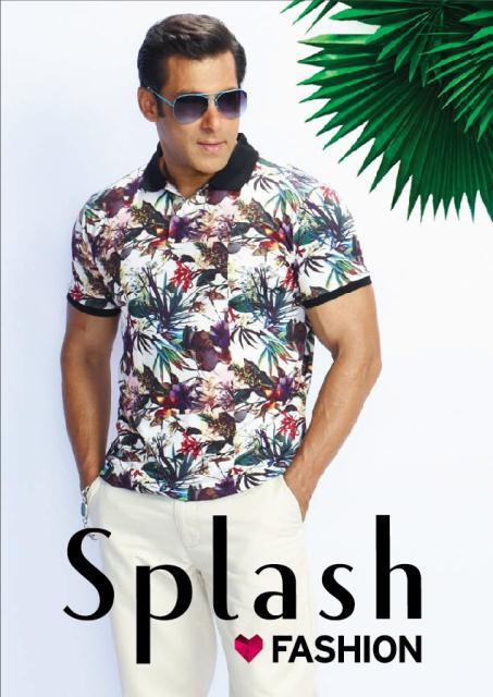 Salman Khan the brand ambassador of Splash Fashion