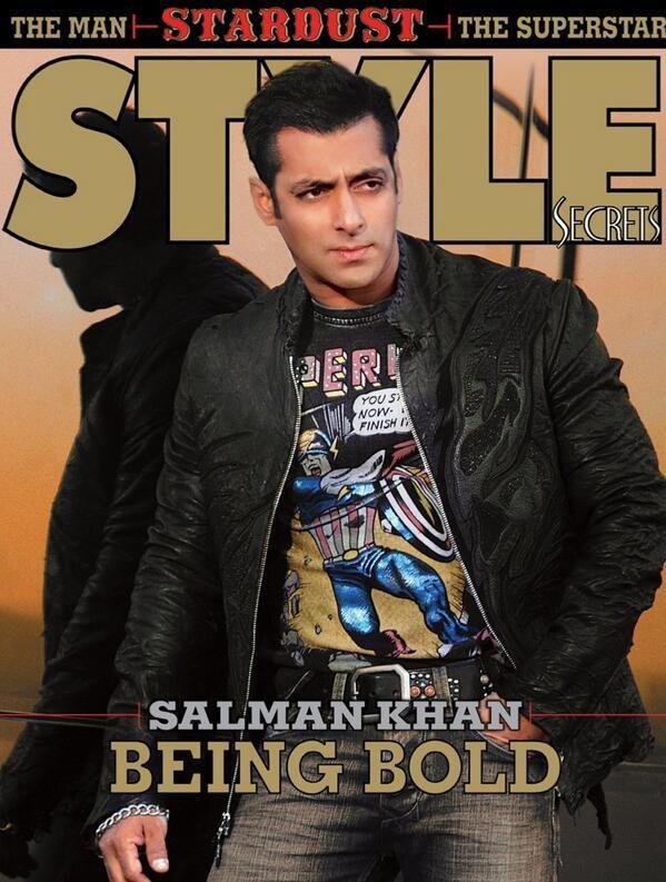 Salman Khan STARDUST Magazine