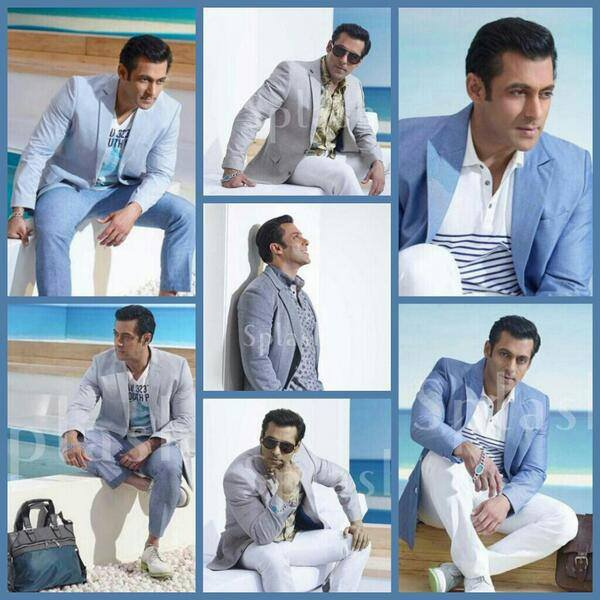 Salman Khan for Splash Fashions Summer 2014 Collection