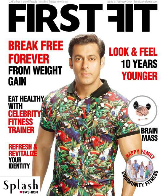 Salman Khan Magazine Cover First Fit