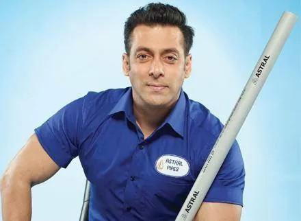 Astral signs Salman Khan as brand ambassador