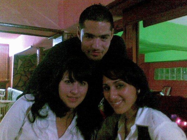 moi et zakia et aichouch ;)....four the best
