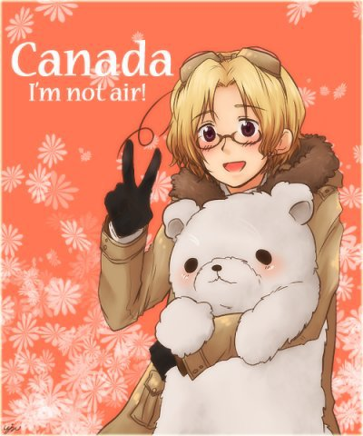 Canada ///// it's me ( rougii)