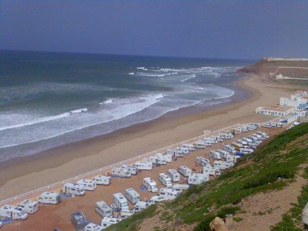 la plage de sidi ifni        شاطي سيدي افني
