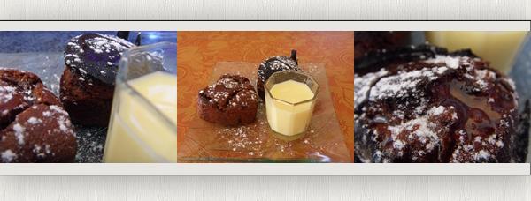 Dessert : Fondant au chocolat