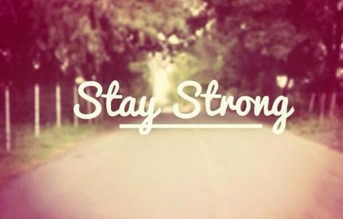 Le plus fort n'est pas celui qui n'est jamais tombé , mais celui qui à chaque chute a su se relever !