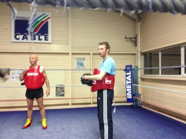Mes entraîneurs de boxe anglaise