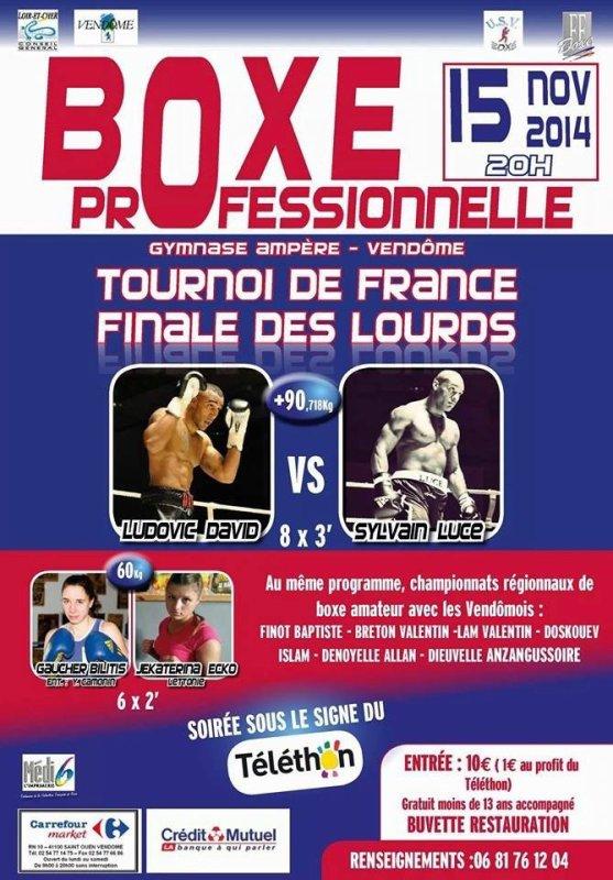 Final du tournois de France 2014