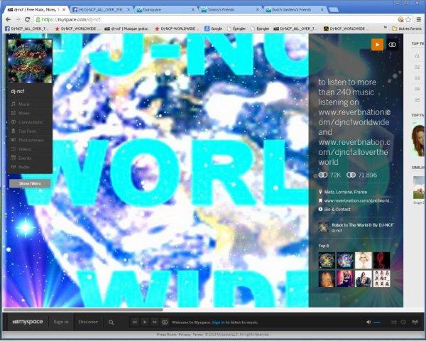 DJ-NCF on Myspace    ( LHOMMENONDECEVANT )