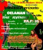 18 DECEMBRE OELAMAN  & THE RYTHMS FT BOOSTER LIVE IN LILLE
