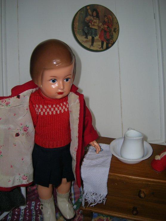 Marie-Anne et les vêtements des Années 50- 60