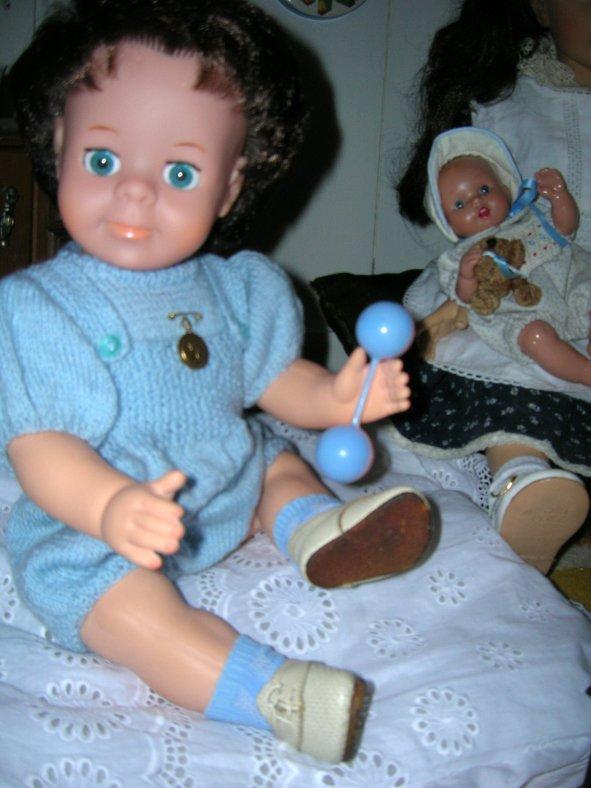 Eugénie et les bébés....