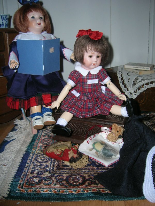 Loulote s'en va en Normandie faire la ronde de la Capucine avec ses cousines Lou et Lotte.....