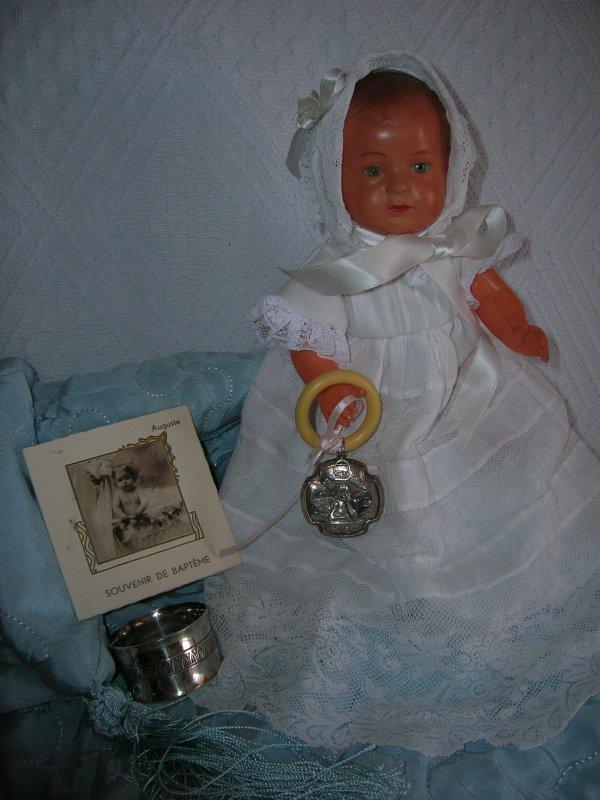 Souvenir de baptême de Ghislain-Auguste......