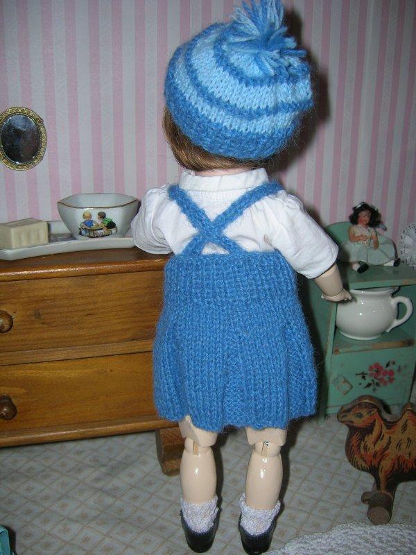 Victorine et sa dernière tenue....