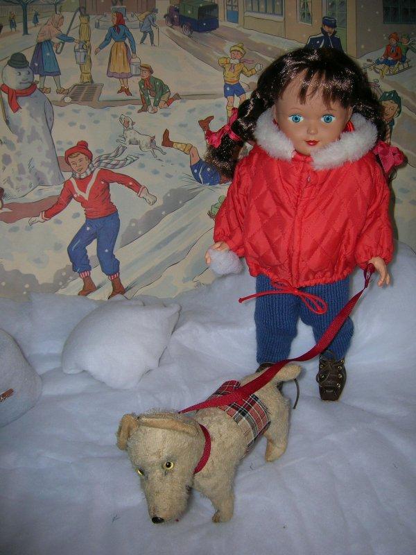 Gersende -Francette et la neige...
