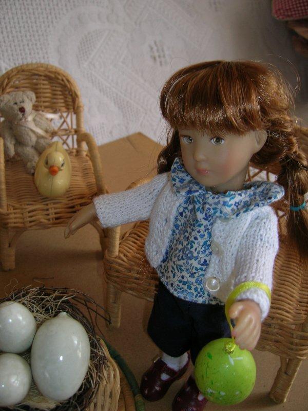 Paule Bonnie et Blue préparent Pâques