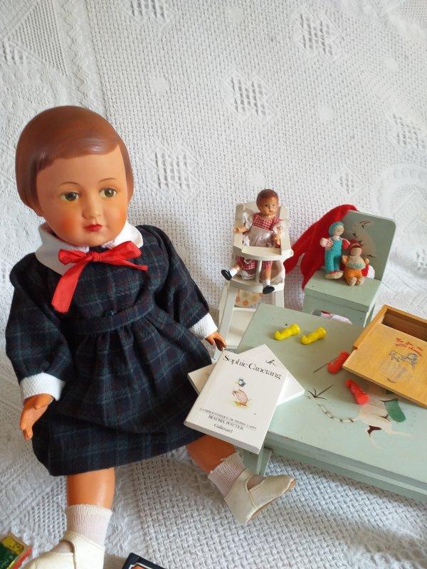 Couture à 4 mains. pour Françoise-Belle.