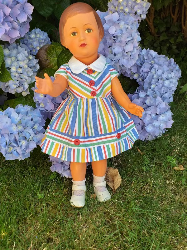 Françoise-Belle au jardin....