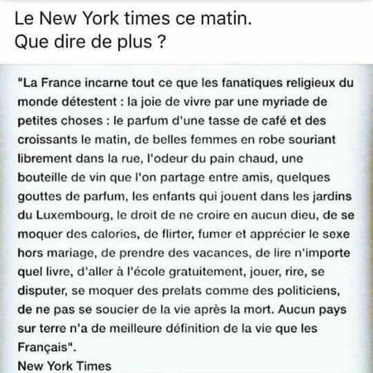Hé....oui fière d'être française ! ! !