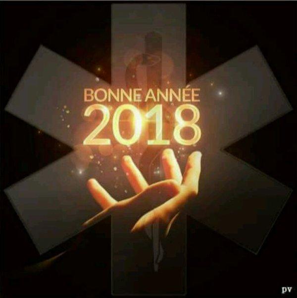 Meilleures voeux pour 2018, que cette année vous apporte tout ce dont vous avez besoin