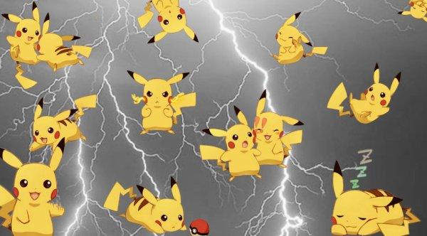 Montage pikachu ©