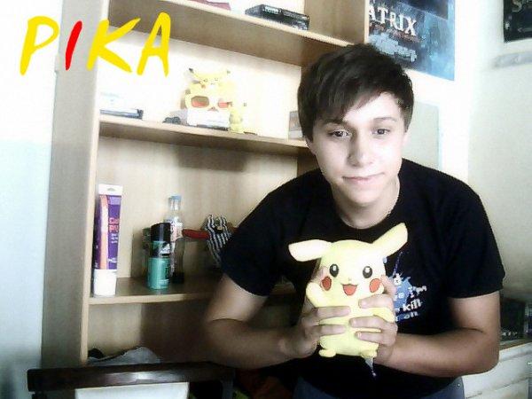 Mon pikachu et moi ♥♥