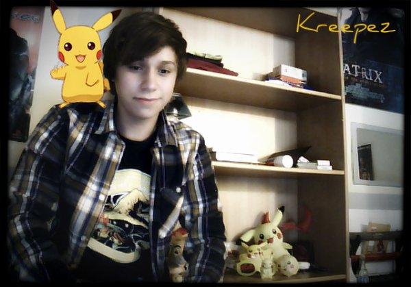 Je suis fan de Pokemon... ça se vois ? ET ALORS ^^